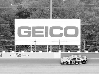 GEICO CHEVY IS BACK IN BLACK