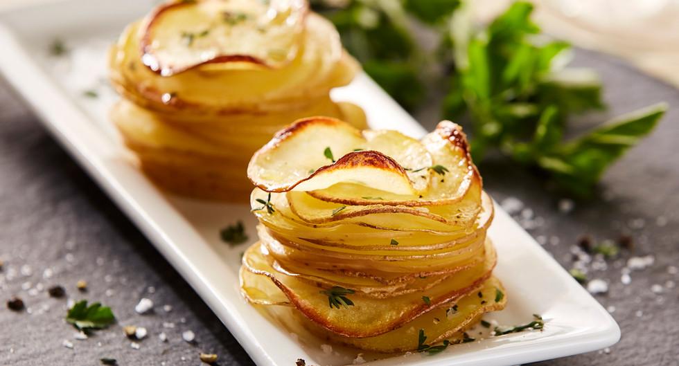 Potato stack