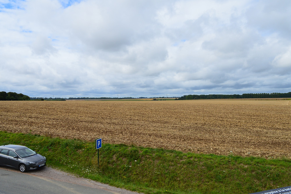 The field of the battle of Agincourt 1415; photo by Ellen Gigliotti for Twotogo