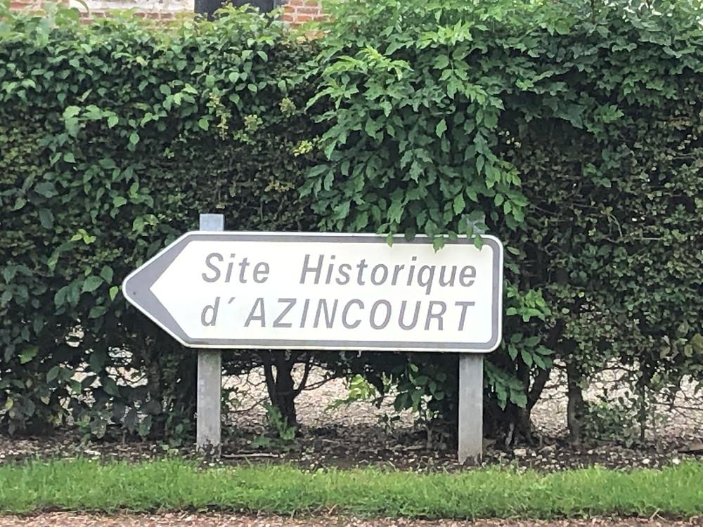 Agincourt Historic Circuit sign; photo by Ellen Gigliotti for Twotogo