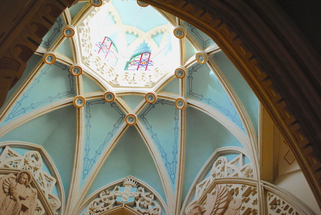 Madrid, Malasaña, l'église de la Buean Dicha