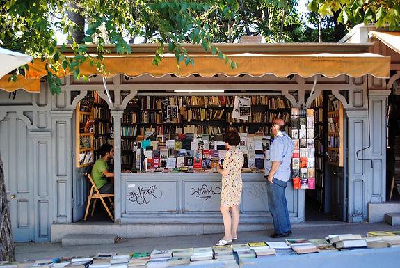 Cuesta Moyano ::: Des anchois et des livres