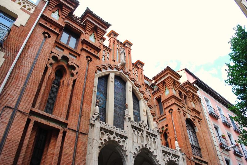 Madrid, Malasaña, l'église de la Buena Dicha