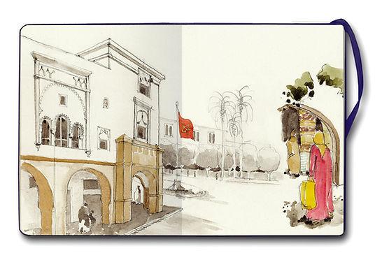 Dessiner Madrid, dessiner le monde