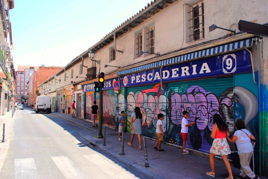 Madrid, Malasaña, calle Noviciado