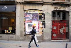 Madrid, Malasaña, calle del Pez