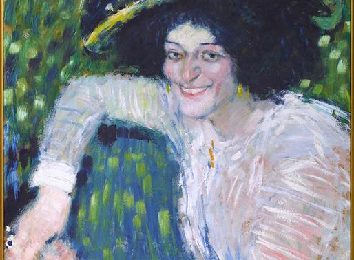Picasso ::: Buste de femme souriante ::: Musée Reina Sofía