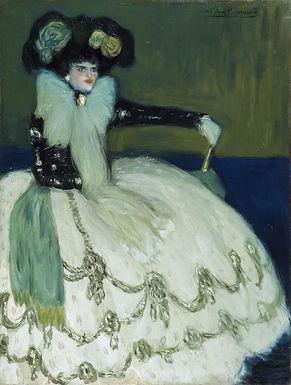 Picasso ::: Femme en bleu ::: Musée Reina Sofía