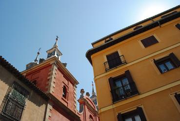 Madrid, Malasaña, plaza Comendadores