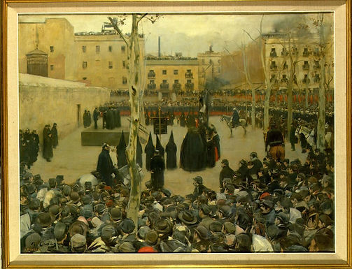 Ramón Casas i Carbó ::: Garrot ::: Musée Reina Sofía
