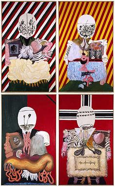 Arroyo ::: Les quatre dictateurs éventrés ::: Museo Reina Sofía