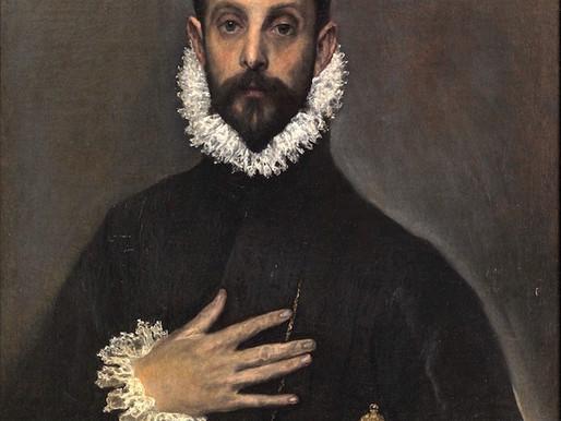 Le Gentilhomme à la main sur la poitrine ::: El Greco ::: Museo Nacional del Prado
