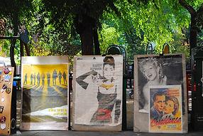 Le marché aux puces de la Plaza Dos de Mayo