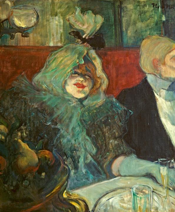 Toulouse-Lautrec, Au rat mort