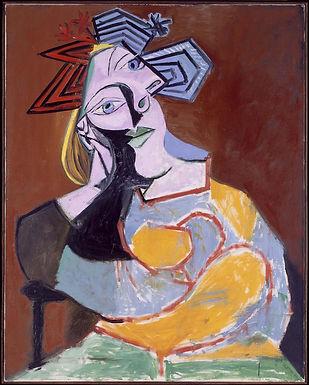 Pablo Picasso ::: Femme assise accoudée ::: Musée Reina Sofía