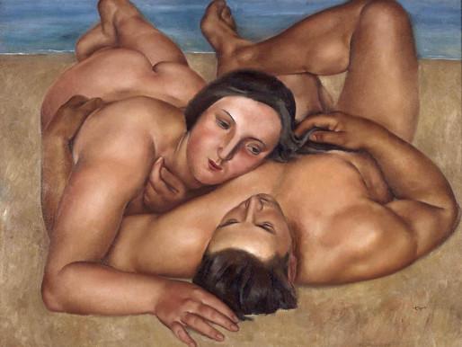 Togores ::: Couple à la plage ::: Musée Reina Sofía