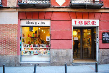 Madrid, Malasaña, librairie Tipos Infames