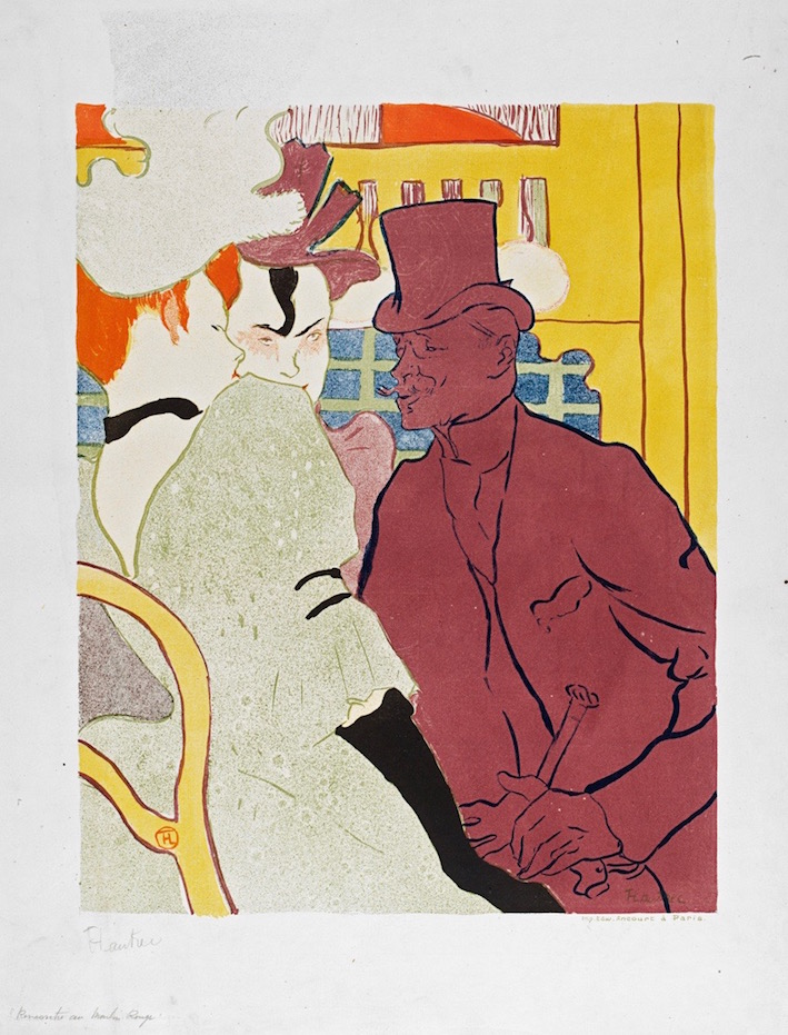 Henri de Toulouse-Lautrec, L'Anglais