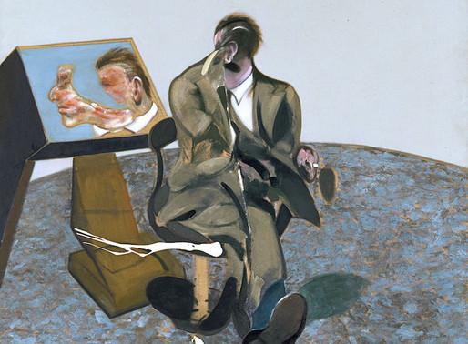Francis Bacon ::: Portrait de George Dyer dans un miroir :::  Museo Thyssen-Bornemisza