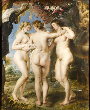 Peter Paul Rubens ::: Les trois Grâces ::: Museo Nacional del Prado