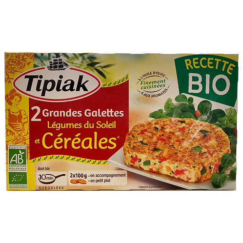 Organic Sunshine Vegetable Patties