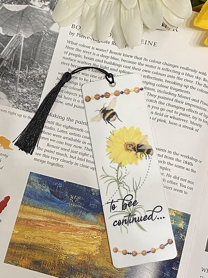 To bee continued bookmark