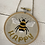 Thumbnail: bee hanging decoration - be happy