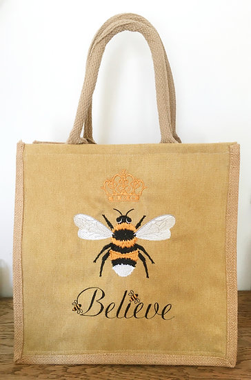 Believe Jute Bag