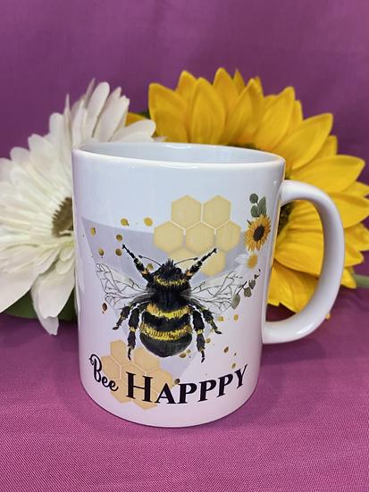 Bee mug - bee happy