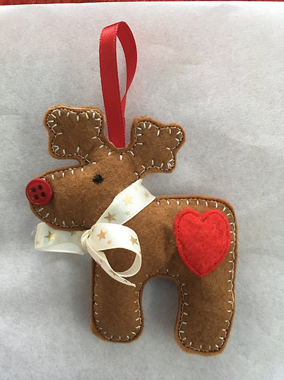 Rudolph Christmas decoration