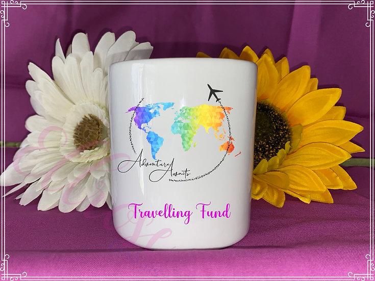 travelling fund money box