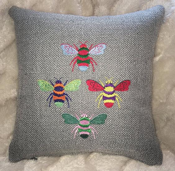 Pop Art Bee cushion