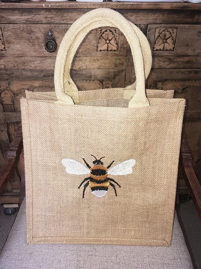 Bumble Bee Jute Bag
