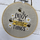 Thumbnail: bee hanging decoration - enjoy the little things