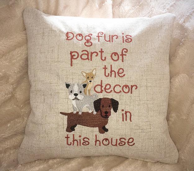 Dog Fur cushion