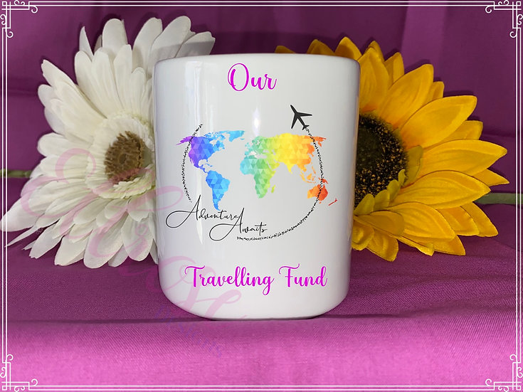 Our travelling fund money box