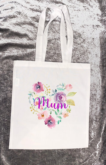 Mum tote bag - mothers day/birthday gift