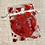 Thumbnail: Heart jigsaw two keyrings