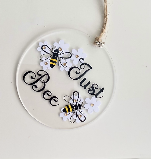 Just Bee  hanging decoration gift 🐝