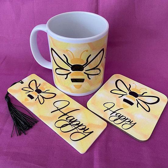 Bee happy gift set