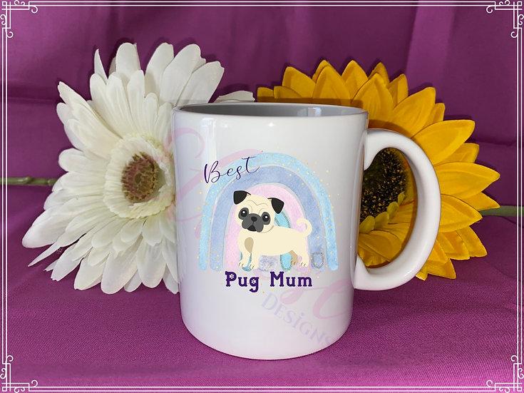 Dog Mum mug - pug mum