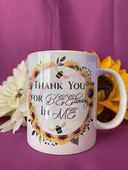 thank you mug - teacher gift