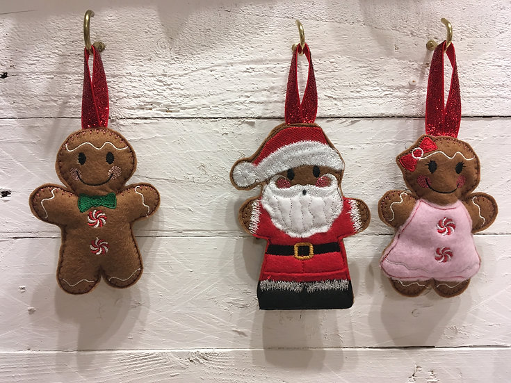 Christmas gingerbread decorations