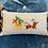 Thumbnail: Christmas cushion dachshund pulling sleigh
