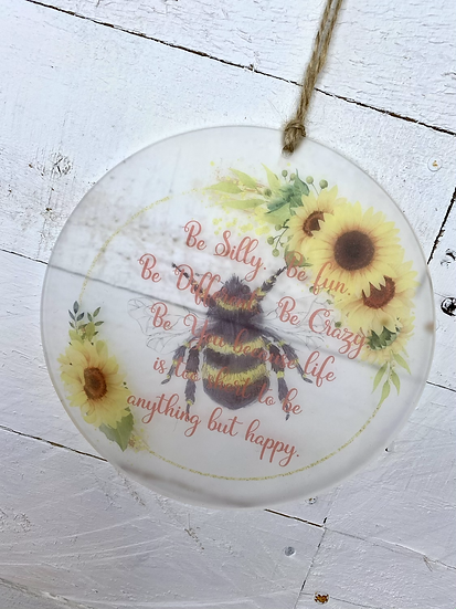 Bee hanging decoration- motivational gift🐝