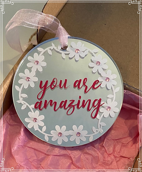 You are amazing gift hanging decoration