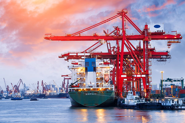 Industrial container freight Trade Port