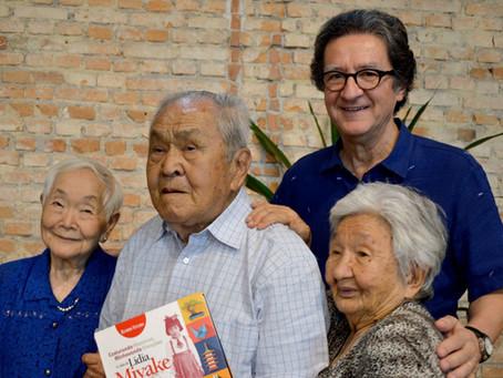 """Lançamento do livro """"Costurando Histórias, Alinhavando Emoções – A vida de Lidia Miyake"""""""