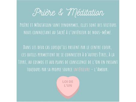 PARTIE I - Prière et méditation 🌸
