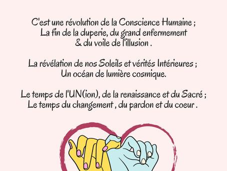 JUIN 2020 ✨ RÉVOLUTION de la Conscience 🌈